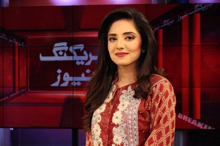 Cute Sehrish Mansoor in Red Dress