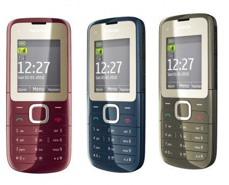 Nokia C2-00 5