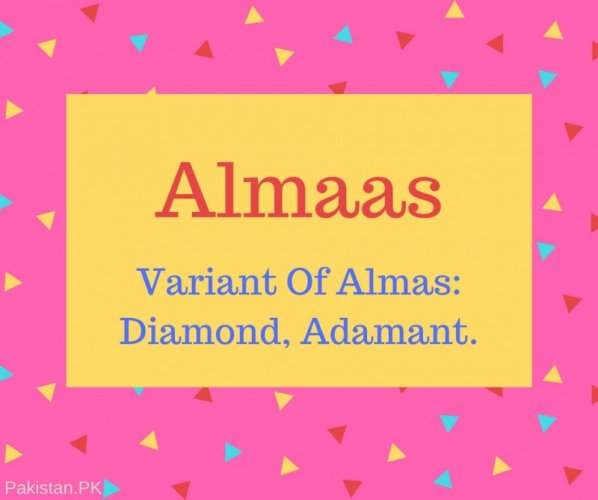 Almaas Name Meaning In Variant Of Almas- Diamond, Adamant.