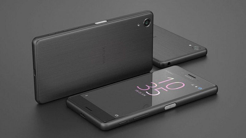 Sony Xperia X Black Look