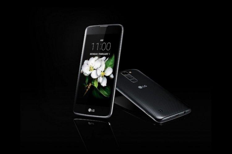 LG K5 Slim View