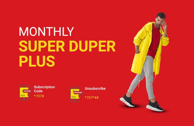 Jazz Monthly Super Duper Plus Offer