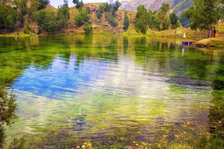 Satrangi Lake Hunza