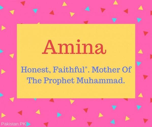 13++ Amina meaning in hindi language ideas