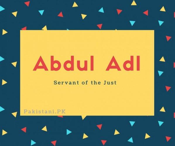 Abdul Adl