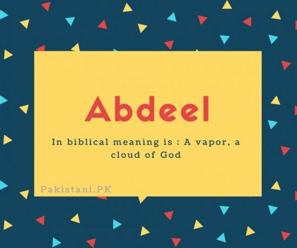 Abdeel