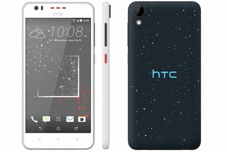 HTC Desire 825 Front and Back View
