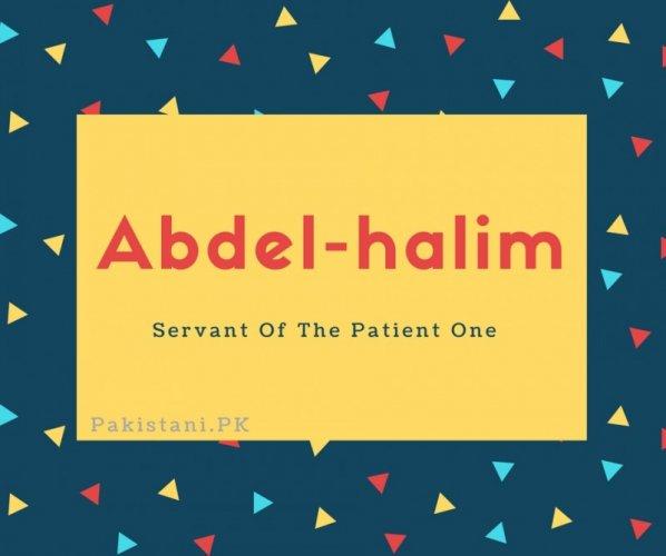 Abdel-halim