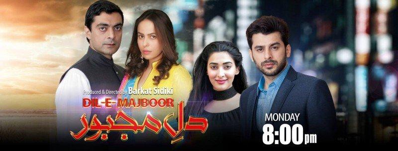 Dil e Majboor - TV One - Cast, Tmings, Story