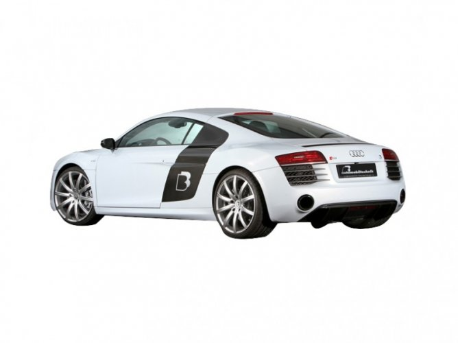 Audi R8 R8 Side view