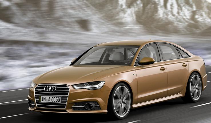 Audi A6 2016 Brown