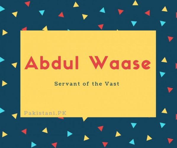 Abdul Waase