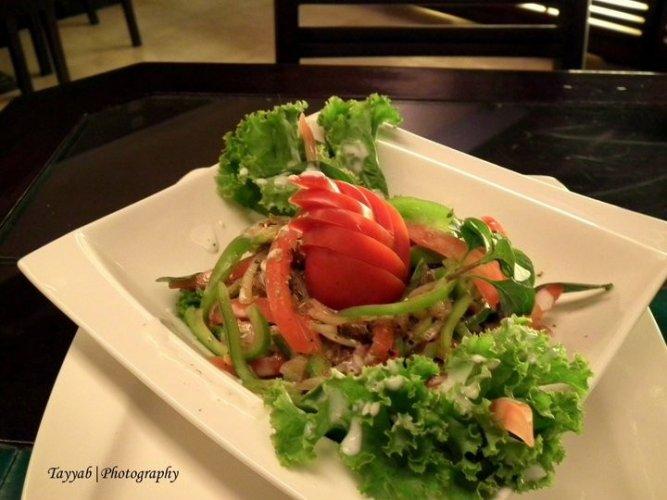 Jans Deli roast beef salad