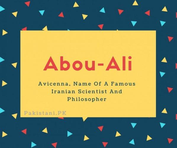 Abou-Ali