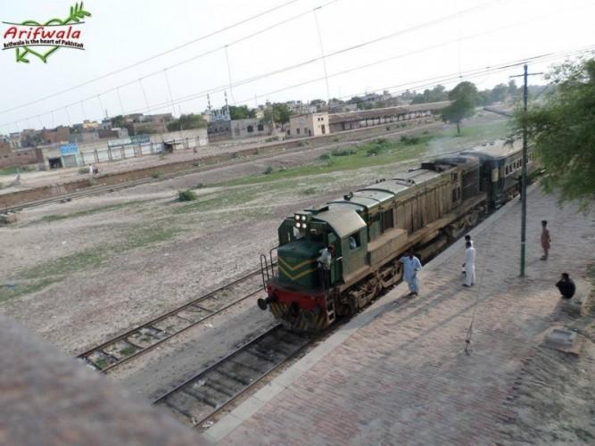 Arif Wala Railway Station 3
