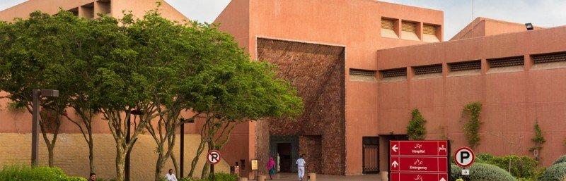 Aga Khan University Hospital - Outside View