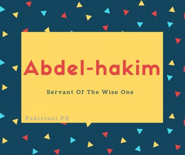 Abdel-hakim