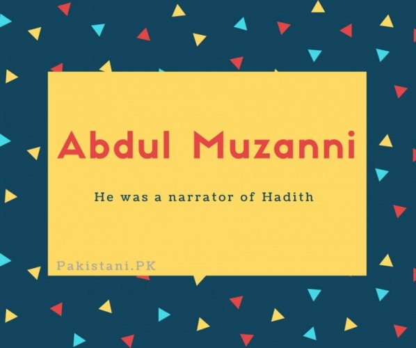 Abdul Muzanni