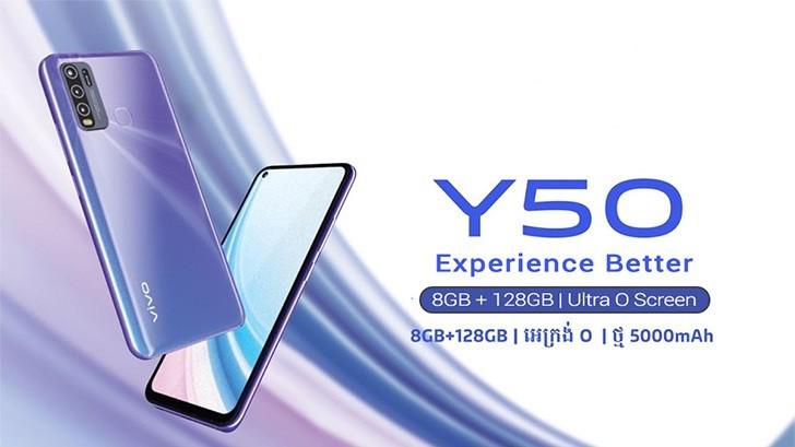 Vivo Y50 Price,Review,Specs,Comparison