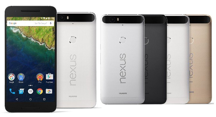 Huawei Nexus 6P Different View