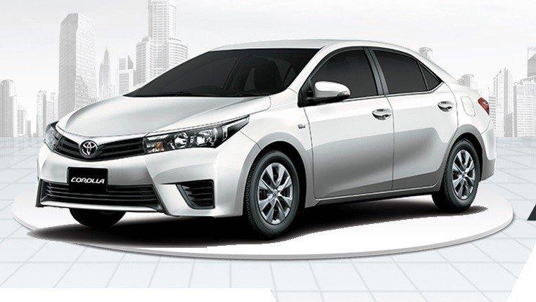 Toyota Corolla Xli 2017 White 2