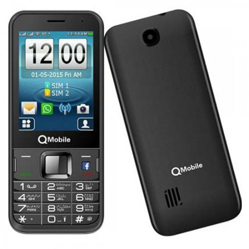 QMobile 3G Lite Front And Back look