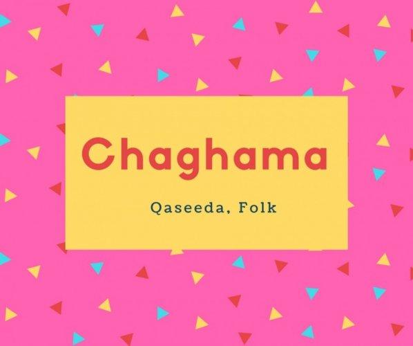 Chaghama Name Meaning Qaseeda, Folk