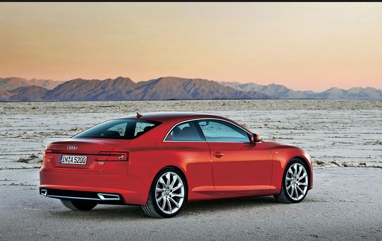 Audi A5 2016 Back Look