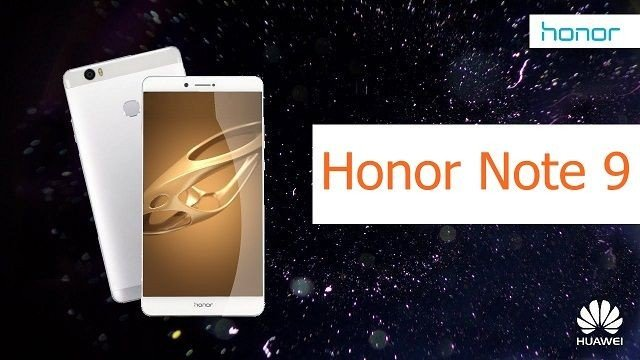 Huawei Honor Note 9 - Complete Phone Specification