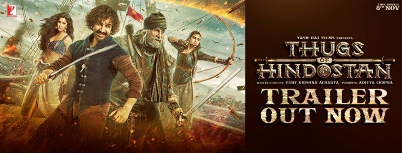 Thugs of Hindostan - Trailer Released
