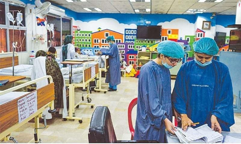 Karachi Children's Hospital cover