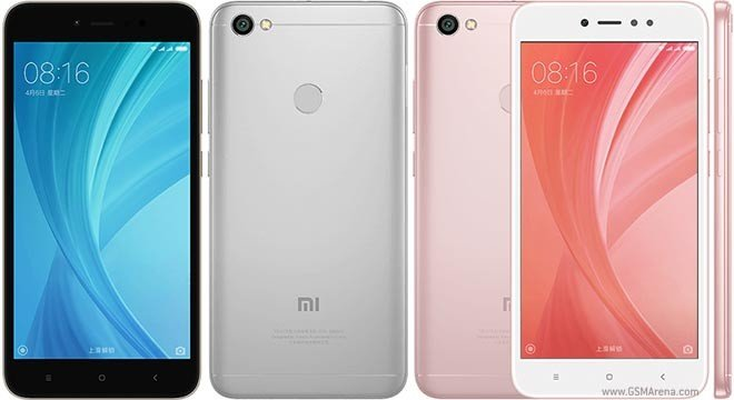 Xiaomi Redmi Note 5A - Rose Gold and Black