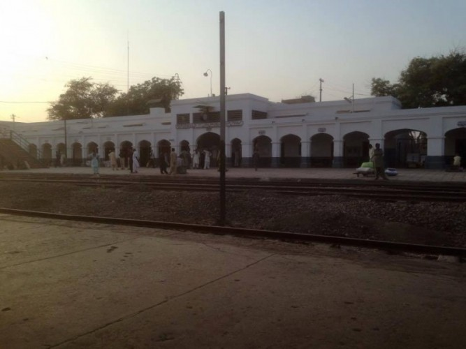 Zero Point Railway Station