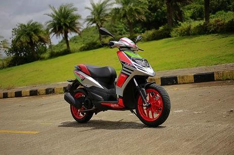 Aprilia SR 150 - looks