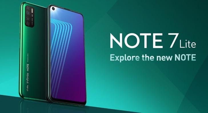 Infinix Note 7 Lite Price,Review,Specs,Comparison