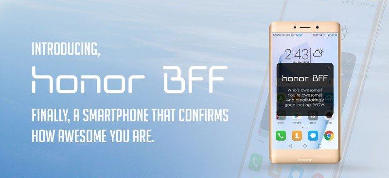 Huawei Honor Bff Design