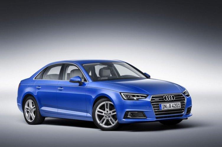 Audi A4 2016 Blue