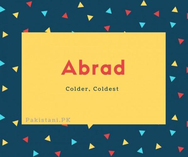 Abrad