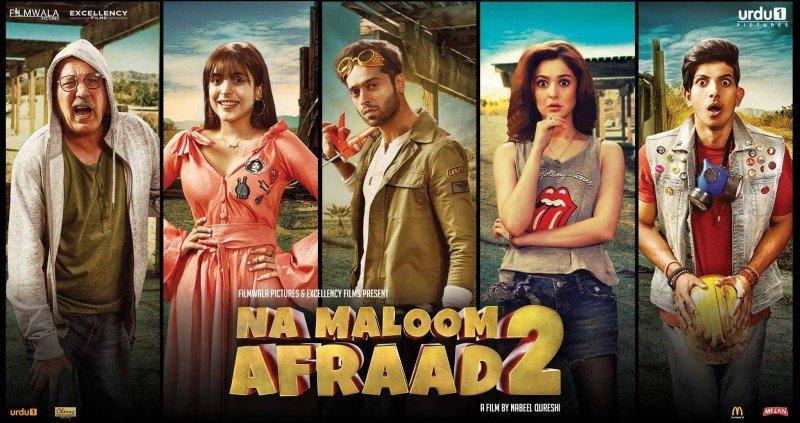Na Maloom Afraad 2 - Complete Cast