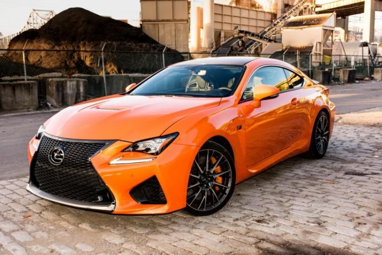 Lexus RC F - Car Price