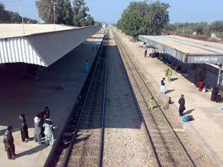 Tando Jam Railway Station