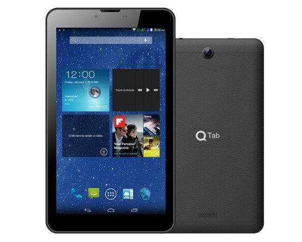 QMobile TAB V3 Plus Design