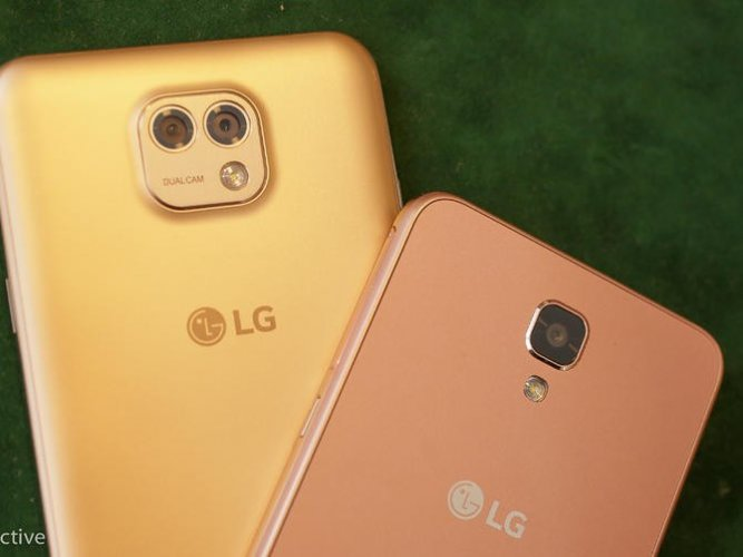 LG X cam Back View