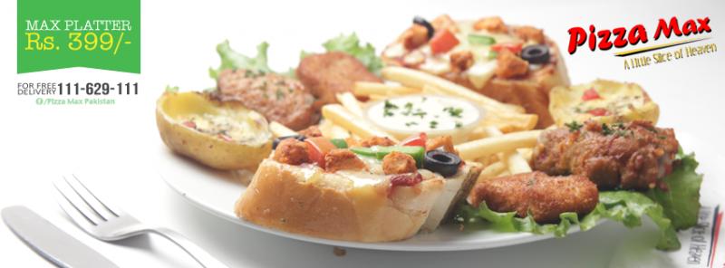 Pizza Max Italian Dish