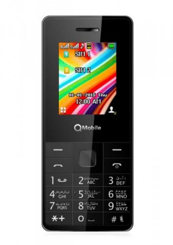 QMobile L6 Black Color