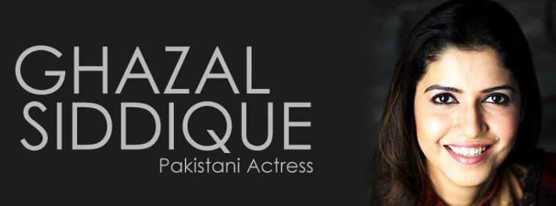 Ghazal Siddiqui Cover Photo