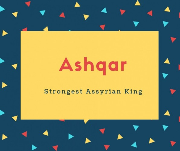 Ashqar Name Meaning Of Fair, Complexioned