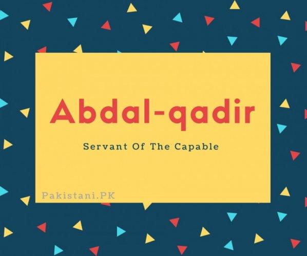 Abdal-qadir