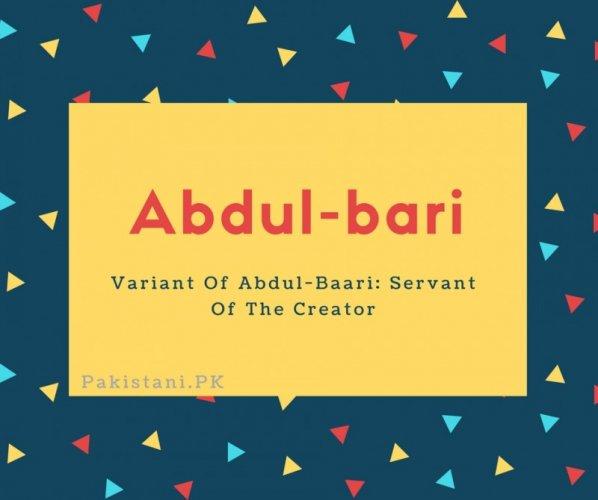 Abdul-bari