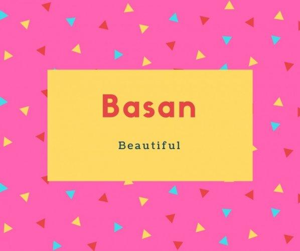 Basan Name Meaning Beautiful
